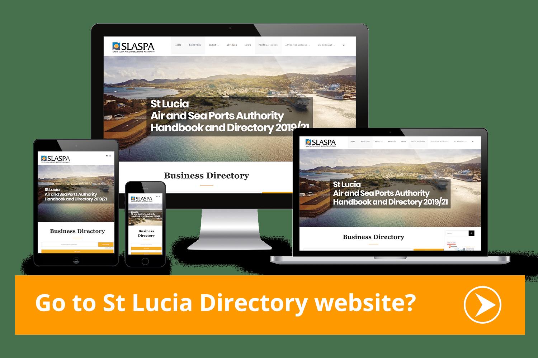 port, stlucia,device,responsive,webdesign